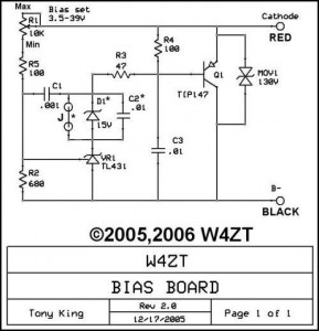 bias board W4ZT
